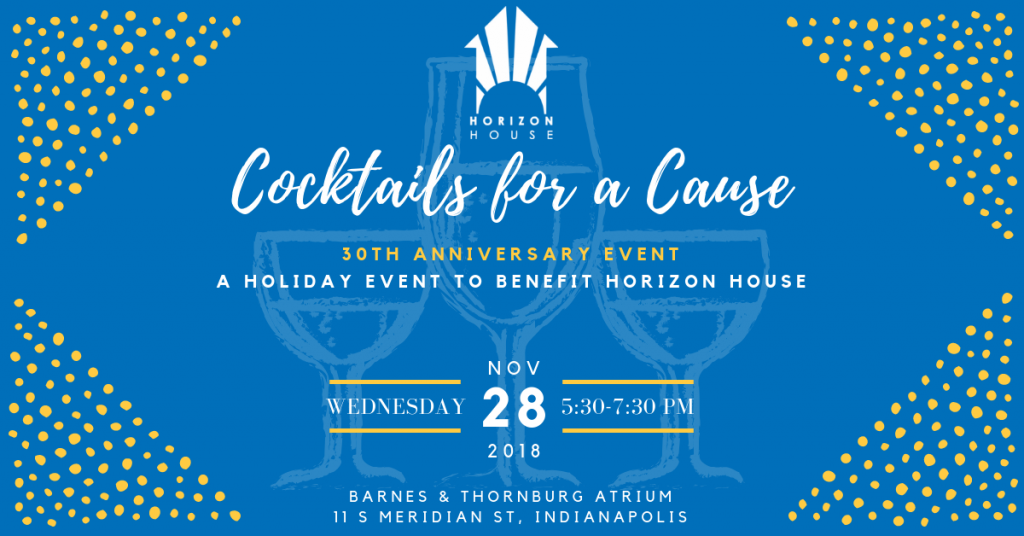 Horizon House Cocktails for a Cause
